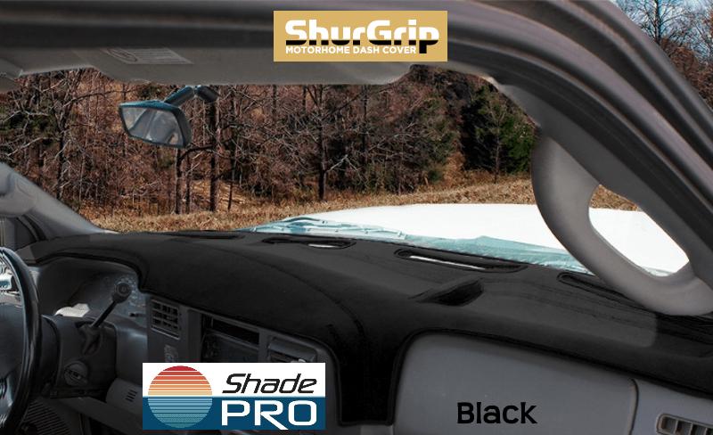 ShurGrip Class C Truck/Van Dash Cover Black