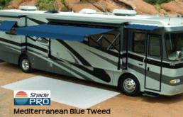 Eclipse Acrylic Mediterranean Blue Tweed with Black AlumaGuard