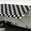 Travel'r Vinyl Checkered Flag with White Weatherguard
