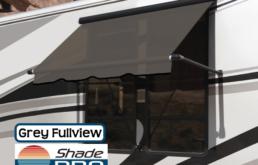 Carefree RV Window Awning Fullview Grey Uniguard
