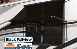 Carefree RV Window Awning Fullview Black Uniguard