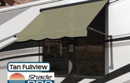 Carefree RV Window Awning Fullview Tan Uniguard