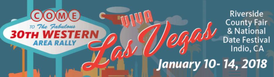 FMCA Western Rally Indio, CA – Janaury 10-14, 2018